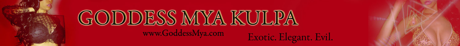 Findom Goddess Mya Kulpa